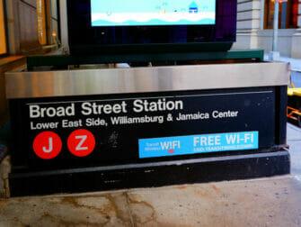 Wi-Fi a New York - WiFi dans la station de Fifth Avenue