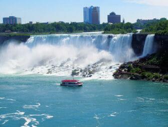 New York aux Niagara Falls en Avion Privé - Visite en Bateau