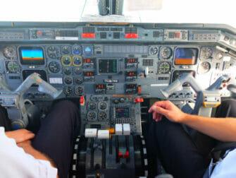New York aux Niagara Falls en Avion Privé - Cabine de Pilotage