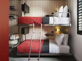 Pod Hotel 39 à New York - lit surposé