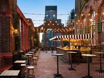 Pod Hotel 39 à New York - Rooftop Bar