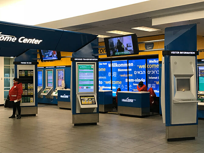 Transfert de l'aéroport LaGuardia à Manhattan