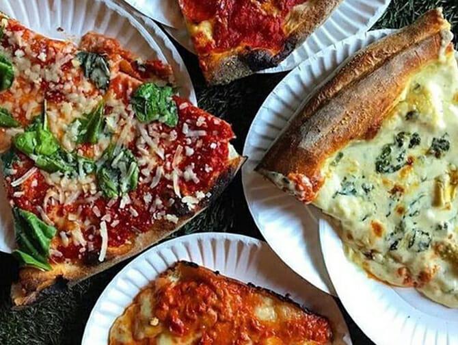 West Village Food Tour à New York - Pizza chez Artichoke