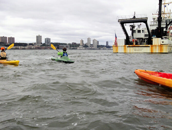 Faire du kayak à New York - Kayaks