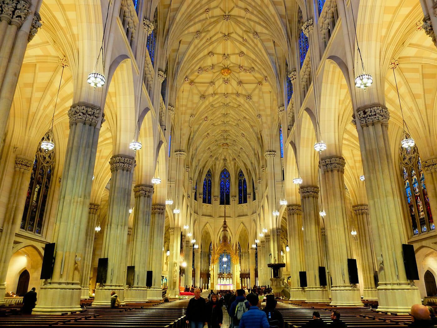 La Cathédrale Saint Patrick à New York - Architecture