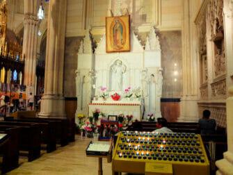 La Cathédrale Saint Patrick à New York - Autel