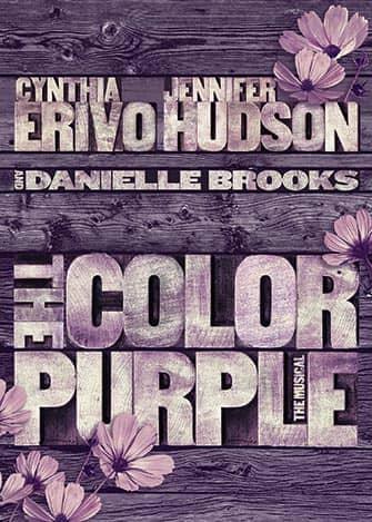 The Color Purple à Broadway - Affiche