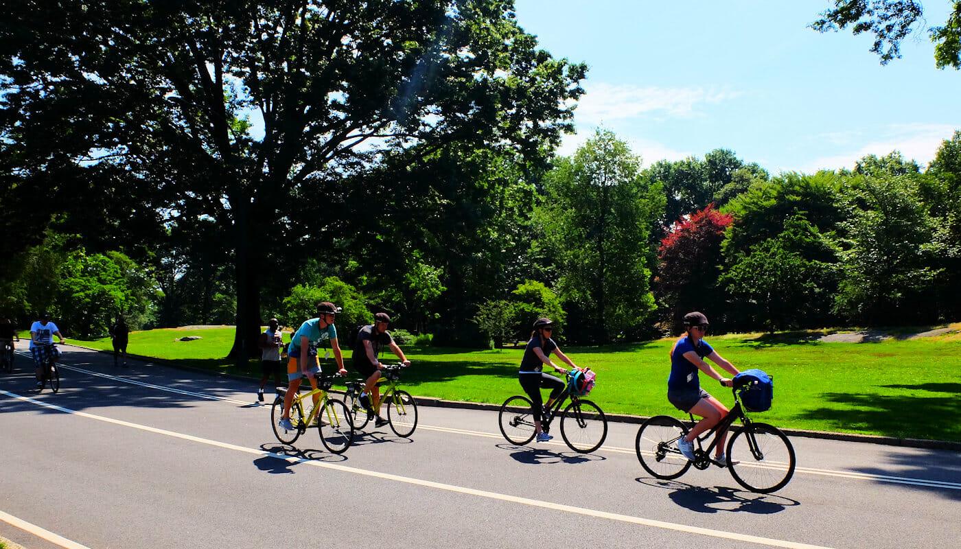 Faire du vélo à New York