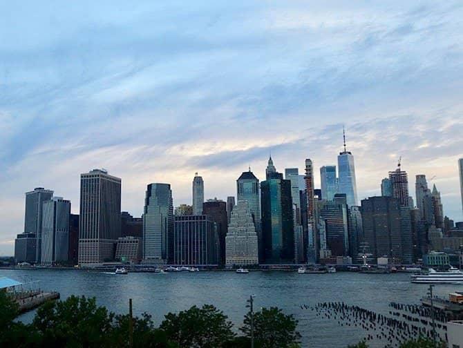 Visite nocturne de New York - Skyline depuis Brooklyn