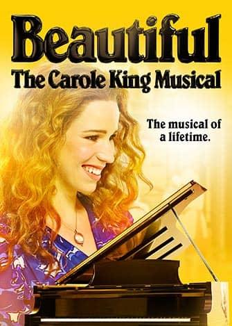 Beautiful The Carole King Musical à Broadway - Affiche