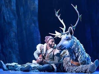 Billets pour Frozen à Broadway - Kristoff et Sven