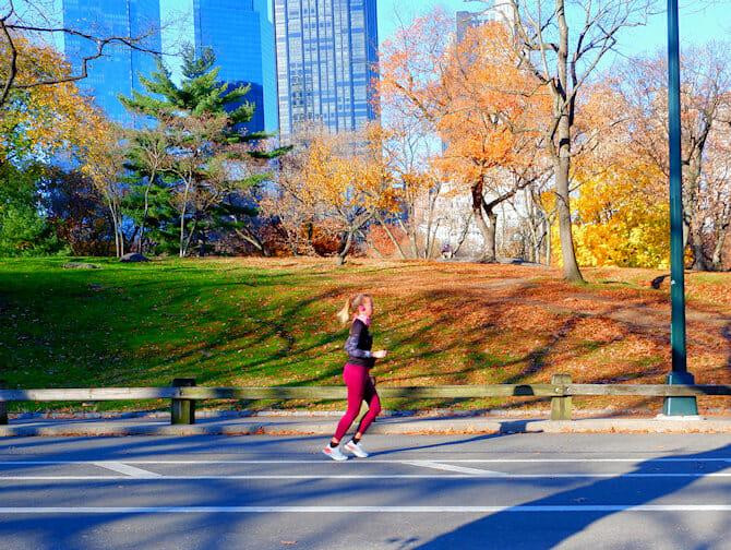 Courir à New York
