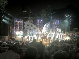 Shakespeare in the Park à New York - Fin du spectacle