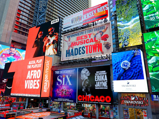 Theater District a New York