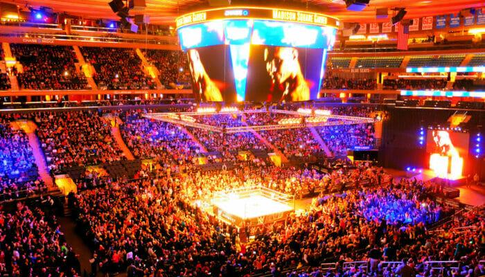 Tickets pour la lutte WWE à New York - Participants