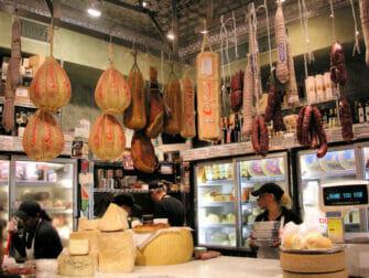 Food tour à Chinatown et Little Italy - Fromages italiens