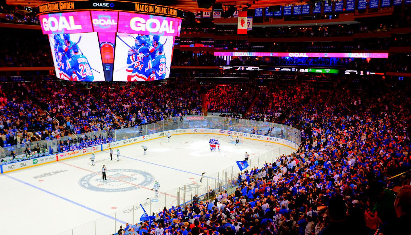Hockey sur glace à New York