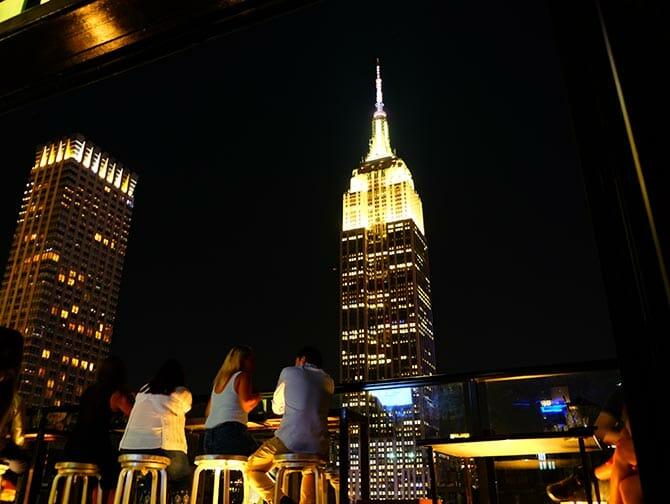 Visite guidée des rooftop bars à New York