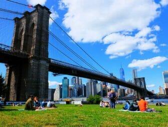 Les plus belles vues de New York - Brooklyn Bridge Park