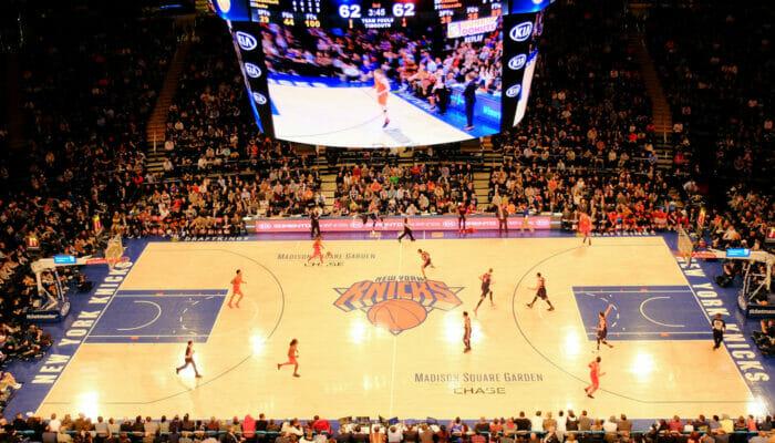 Basketball NBA à New York