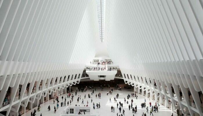 World Trade Center Transportation Hub - Intérieur