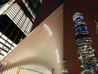 World Trade Center Transportation Hub - Oculus vu de l'extérieur