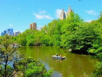 Tour en Barque à Central Park - Barque