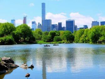 Tour en Barque à Central Park - The Lake