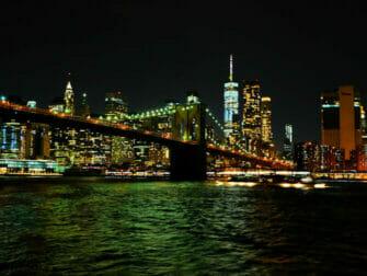 Dîner-croisière Hudson River à New York- Skyline