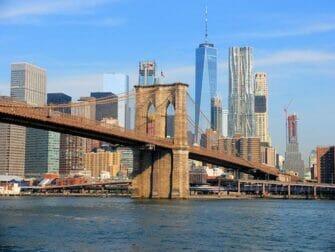 La différence entre le New York Explorer Pass le New York Pass - Brooklyn Bridge