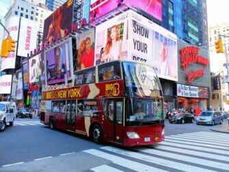 La différence entre le New York Explorer Pass le New York Pass - Bus touristique