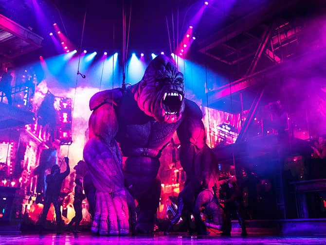 Billets pour King Kong the Musical à Broadway - King Kong