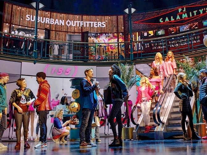 Mean Girls à Broadway Tickets - Au centre commercial