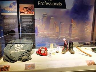 911 Tribute Museum à New York - objets personnels