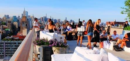 Visiter un Rooftop Bar