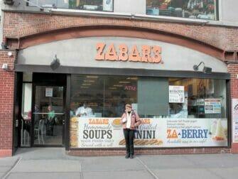 Visite des films classiques à New York - Zabar's