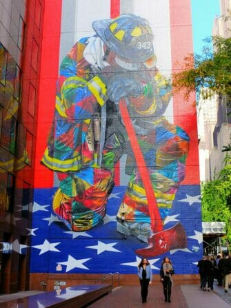 Private Walking Tour in New York Firefighter
