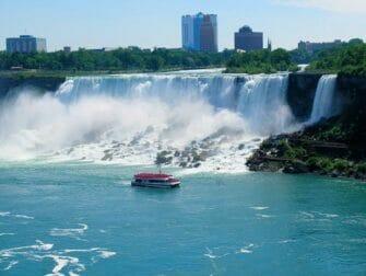 Excursion de New York aux Niagara Falls en bus - Maid of the Mist