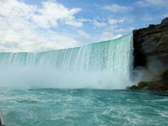 Excursion de New York aux Niagara Falls en bus - Vue depuis Maid of the Mist