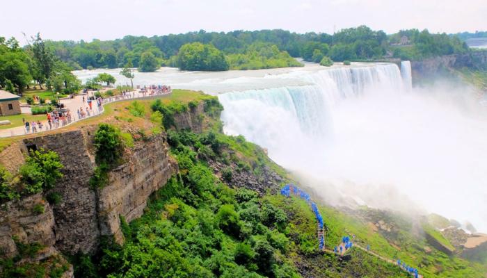 Excursion de New York aux Niagara Falls en bus - Vue depuis la tour d'observation