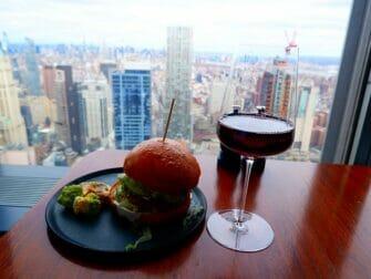 Restaurants à New York - Un verre à Manhatta