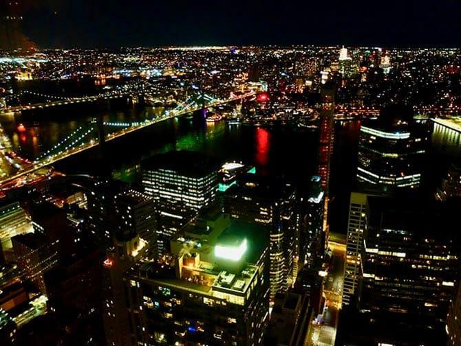 Restaurants à New York - Vue depuis Manhatta