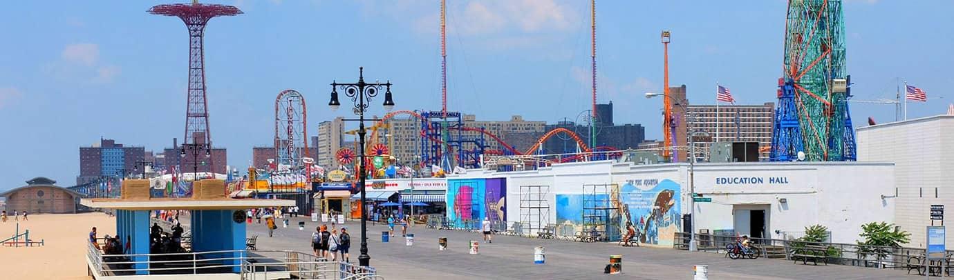 Destination estivale : Coney Island