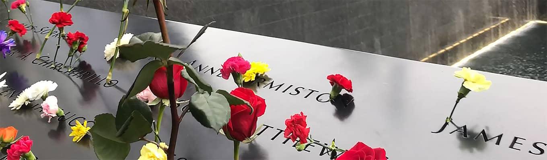 Le Tribute in Light au 9/11 Memorial