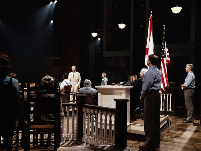 To Kill a Mockingbird à Broadway Billets - Au tribunal
