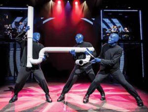 Meilleures comédies musicales Broadway pour enfants - Blue Man Group