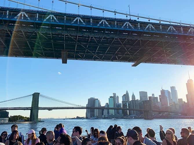 Croisière Happy Hour à New York - Sur l'East River