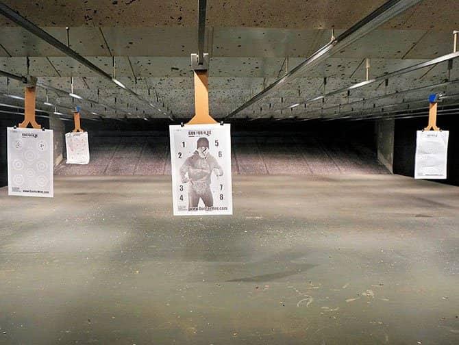 Stand de tir à New York - La cible