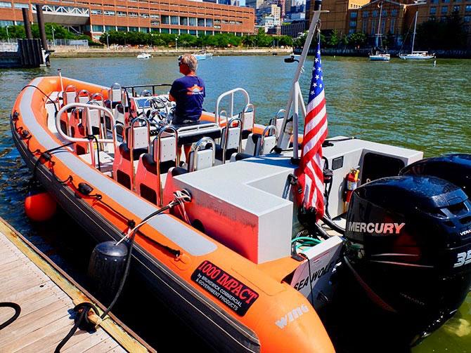 High Speed Boat Tour à New York - RIB Boat