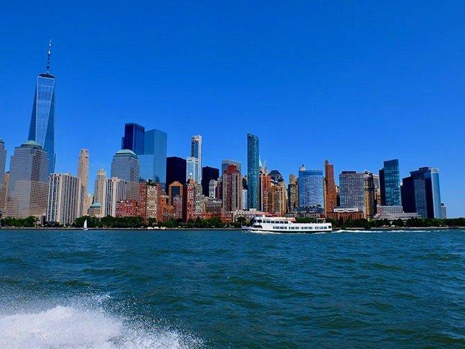 High Speed Boat Tour à New York - Vue depuis le bateau